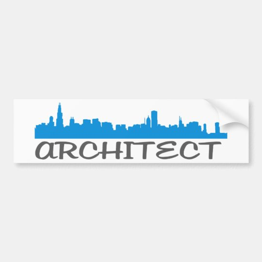 Architecture Skylines! Bumper Sticker