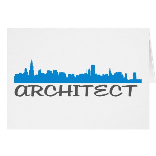 Architecture Skylines! Greeting Card
