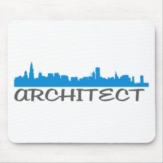 Architecture Skylines Mouse Pads