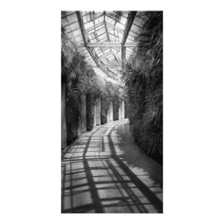 Architecture - The unchosen path - BW Photo Card