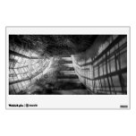 Architecture - The unchosen path - BW Wall Skins