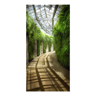 Architecture - The unchosen path Photo Greeting Card