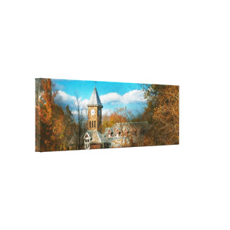 Architecture - The university Gallery Wrapped Canvas