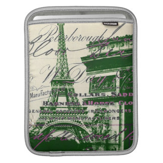 architecture victory gate paris eiffel tower sleeves for iPads