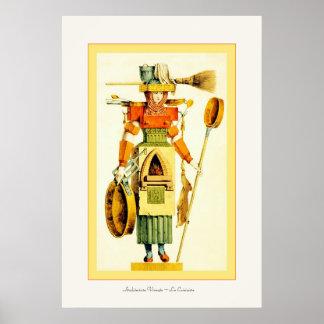 Architecture Vivante ~ La Cuisiniere Poster