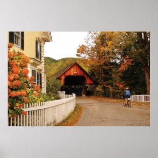 Architecture - Woodstock VT - Entering Woodstock Poster