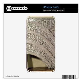 Architrave de una entrada, piedra arenisca roja, M Calcomanía Para iPhone 4S