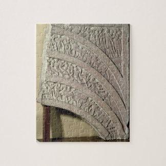 Architrave de una entrada, piedra arenisca roja, M Rompecabezas Con Fotos