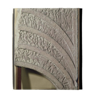 Architrave from a gateway, red sandstone, Mathura, iPad Folio Cover