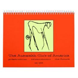 Archival 2009 The Azawakh Club Calendar