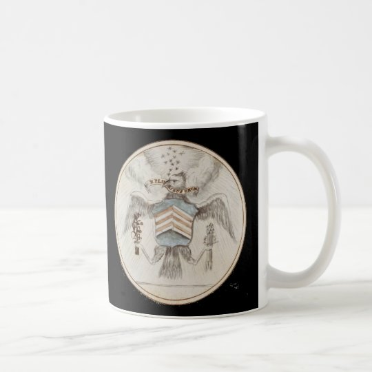 Archive Presidential Seal Sketch Coffee Mug