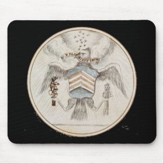 Archive Presidential Seal Sketch Mouse Pad