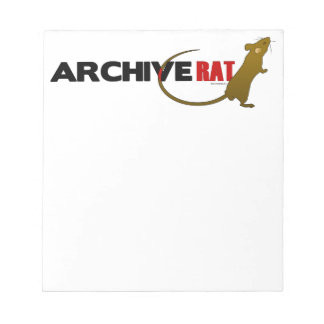Archive Rat (no archive box) Notepad