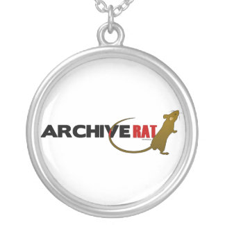 Archive Rat (no archive box) Silver Plated Necklace