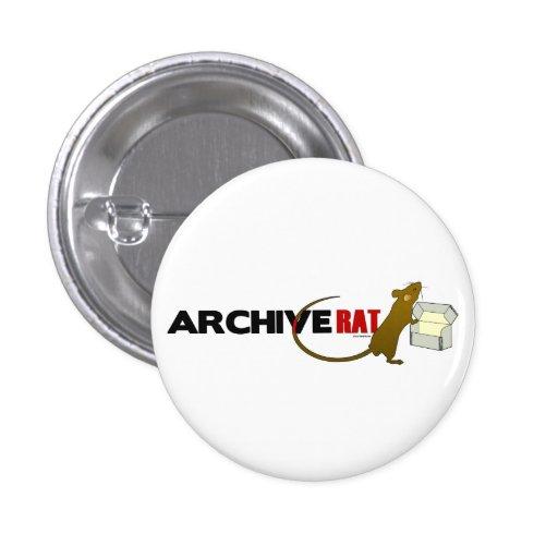 Archive Rat (Version 2) Pin