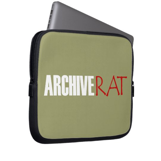 Archive Rat (Version 3) Computer Sleeve