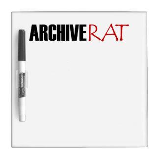 Archive Rat (Version 3) Dry-Erase Board