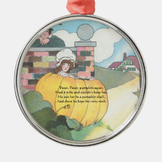 Archived Template Item for Mother Goose Metal Ornament