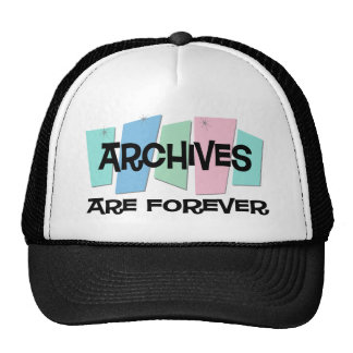 Archives Are Forever Mesh Hats