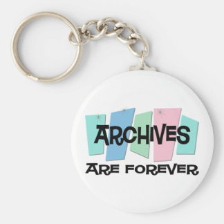 Archives Are Forever Keychain