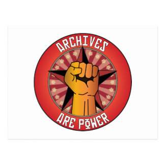 Archives Are Power Post Cards