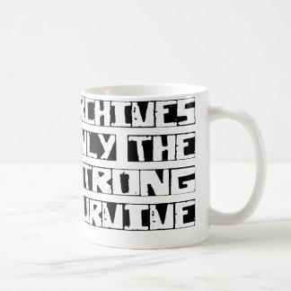 Archives Survive Coffee Mug