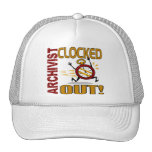 Archivist Clocked Out Trucker Hat