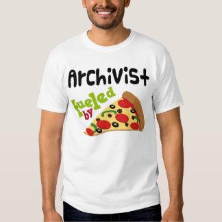 Archivist (Funny) Pizza T Shirt