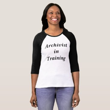 USA Themed Archivist in Training Baseball Shirt