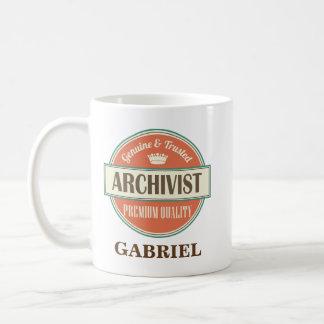 Archivist Personalized Office Mug Gift