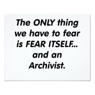 archivista del miedo invitaciones personales