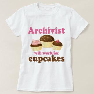 Archivista divertido remera