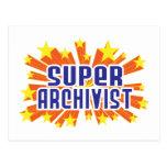 Archivista estupendo postal