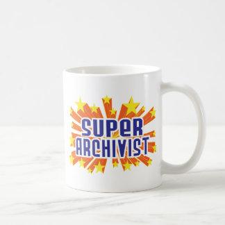 Archivista estupendo taza