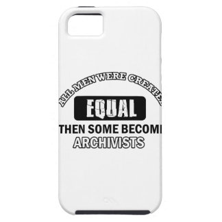 Archivists job designs iPhone 5 covers