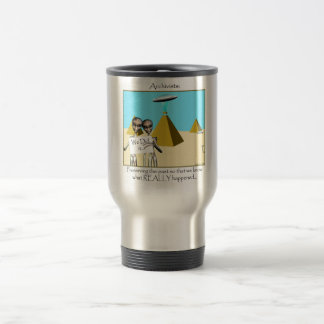 Archivists - Preserving the Past (Aliens) 15 Oz Stainless Steel Travel Mug