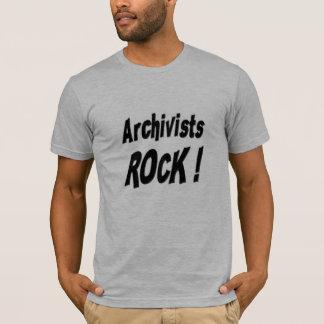 Archivists Rock! T-shirt