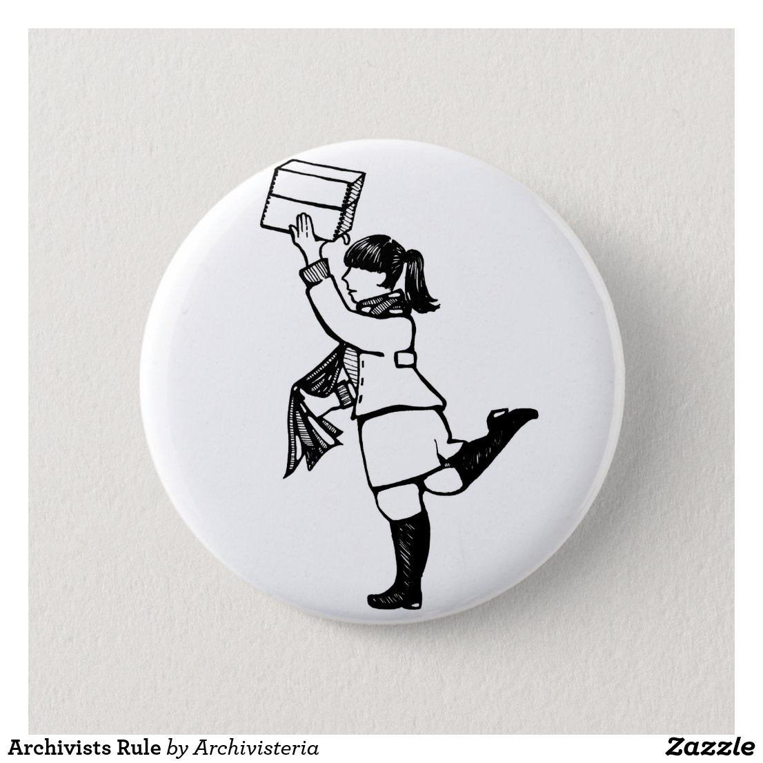 Visit Archivisteria on Zazzle.com for fun, interesting designs just for Archivists!
