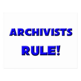 Archivists Rule! Postcard