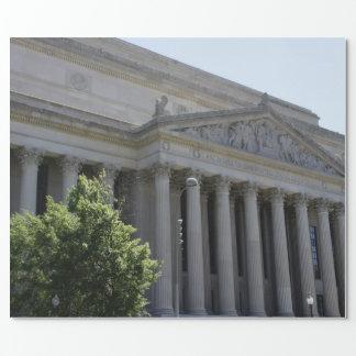 Archivos nacionales papel de regalo