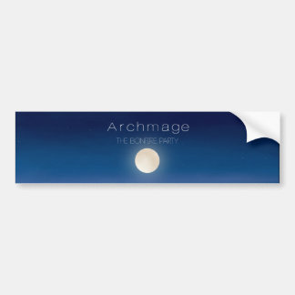 Archmage Official Bonfire Party Stickers