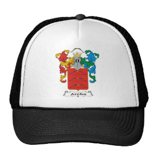 Archo Family Hungarian Coat of Arms Mesh Hats