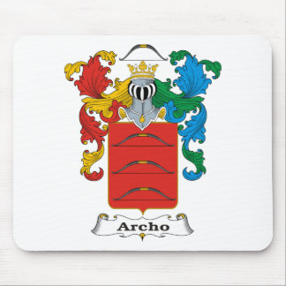 Archo Family Hungarian Coat of Arms Mouse Pad