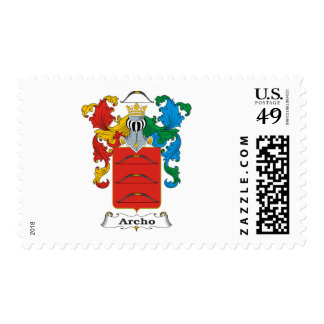 Archo Family Hungarian Coat of Arms Postage Stamp