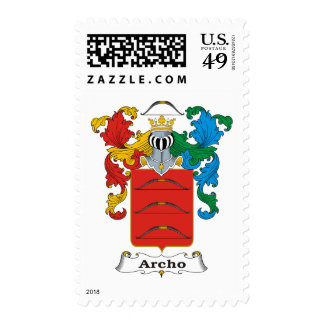 Archo Family Hungarian Coat of Arms Postage