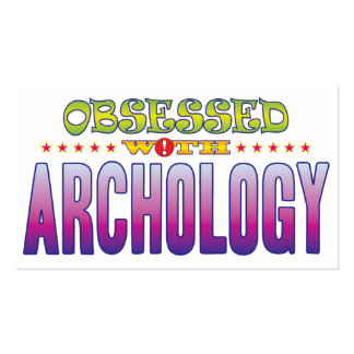 Archology 2 obsesionado tarjetas de visita