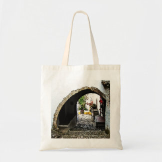 Archway in Obidos Portugal Bag