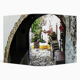 Archway in Obidos Portugal Binder