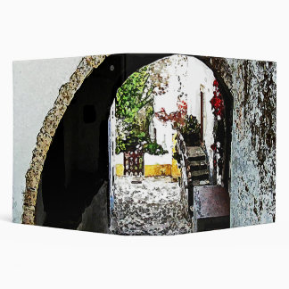 Archway in Obidos Portugal - large Binder