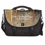 Archway of Cavern Flowers Laptop Messenger Bag